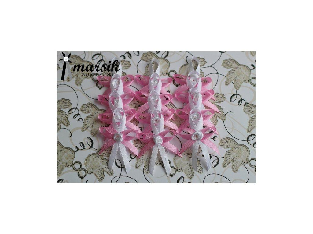 Vývazek pink Rose