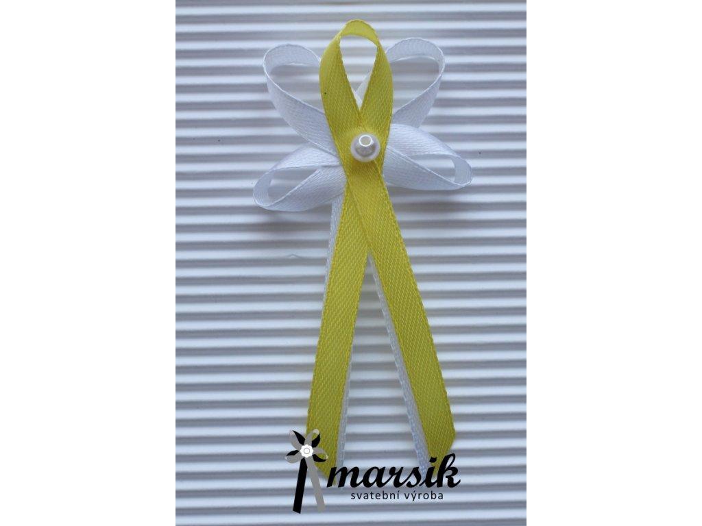 Vývazek yellow Rebecca