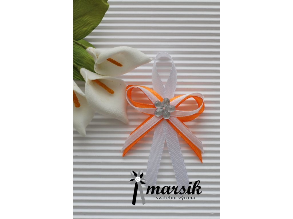 Vývazek orange Marina