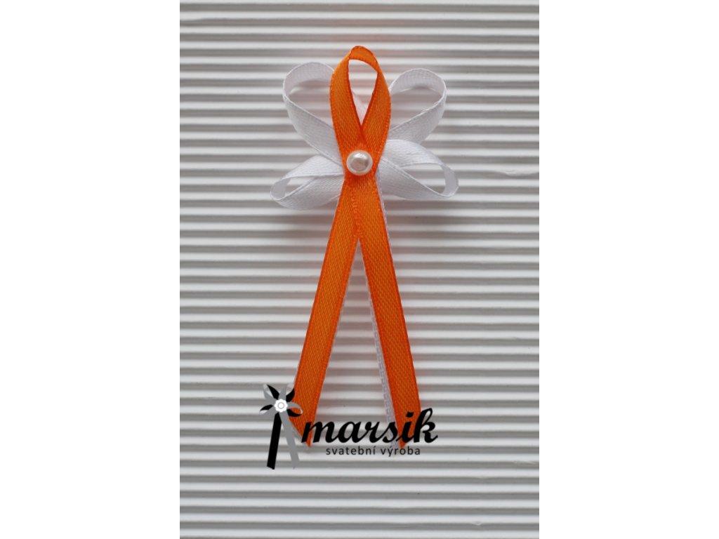 Vývazek orange Rebecca