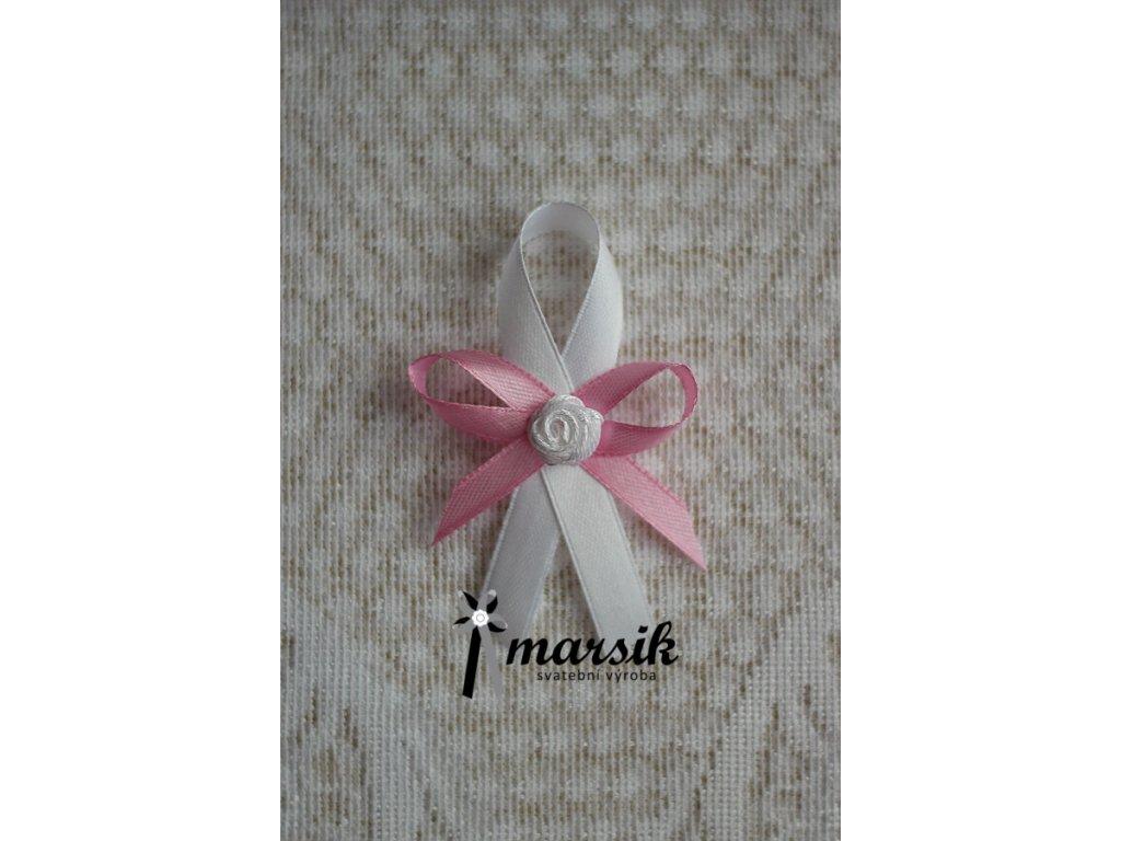 Vývazek pink Rose I.