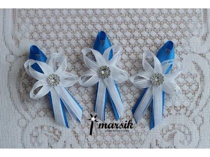 Vývazek blue silver Ella