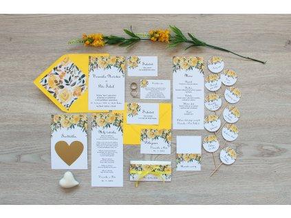 Svatební oznámení SV102