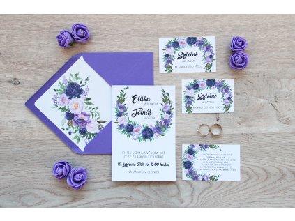 Svatební oznámení SV104
