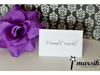 Jmenovka floral