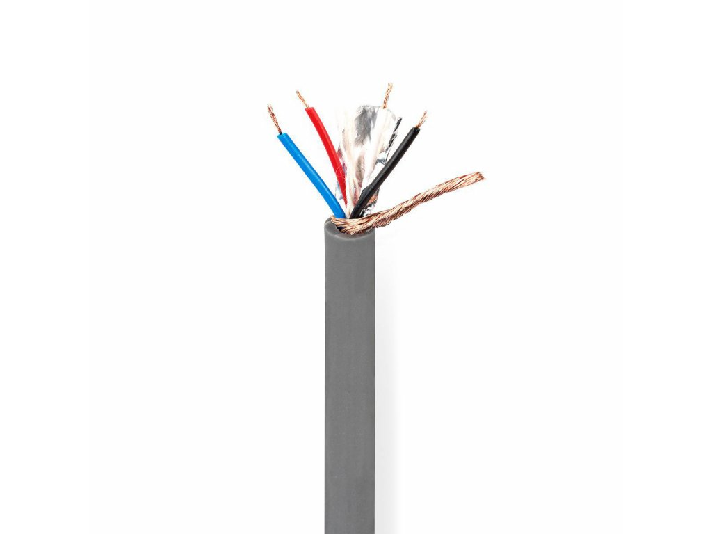 2669 dmx kabel 110 ohmu 4x 0 12 mm 100 m civka seda barva