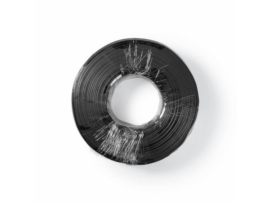 2897 kabel rca 2x 0 15 mm2 100 m paska cerny