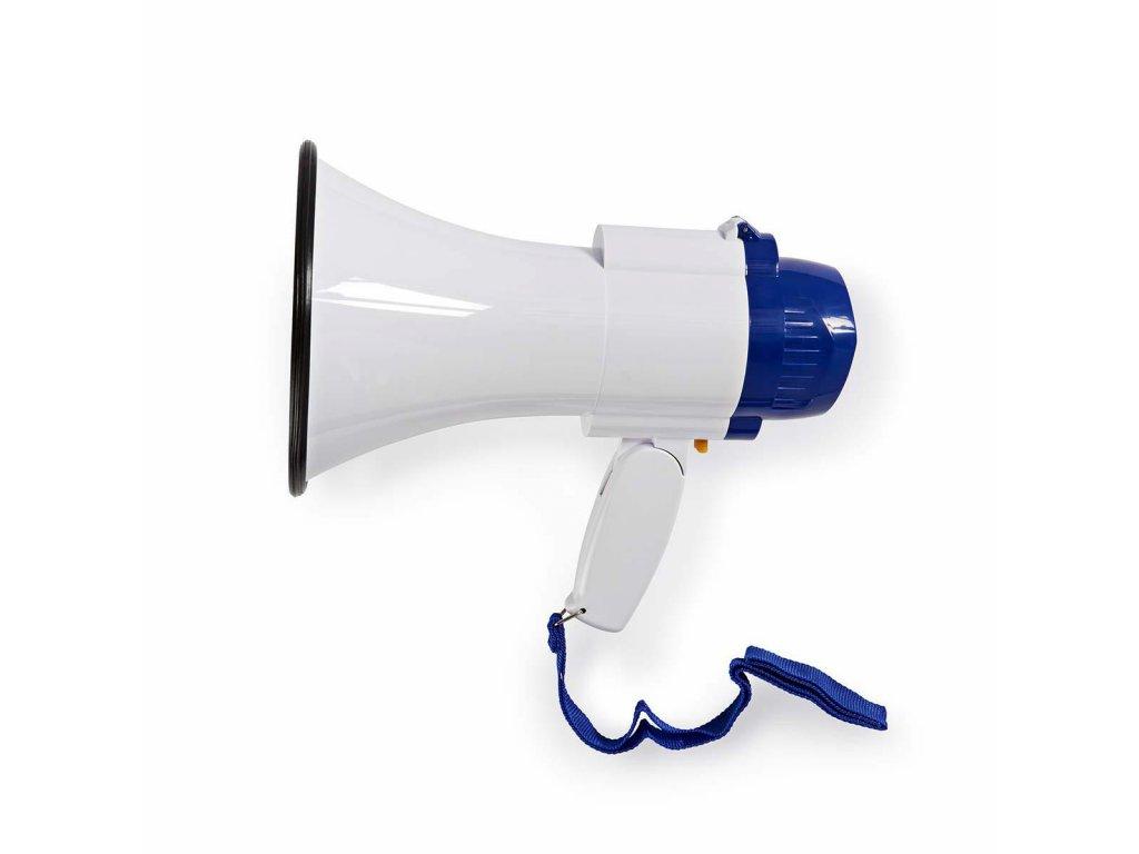 671 1 megafon maximalni rozsah 250 m ovladani hlasitosti az 115 db vestaveny mikrofon vestavena sirena funkce nahravani bila modra
