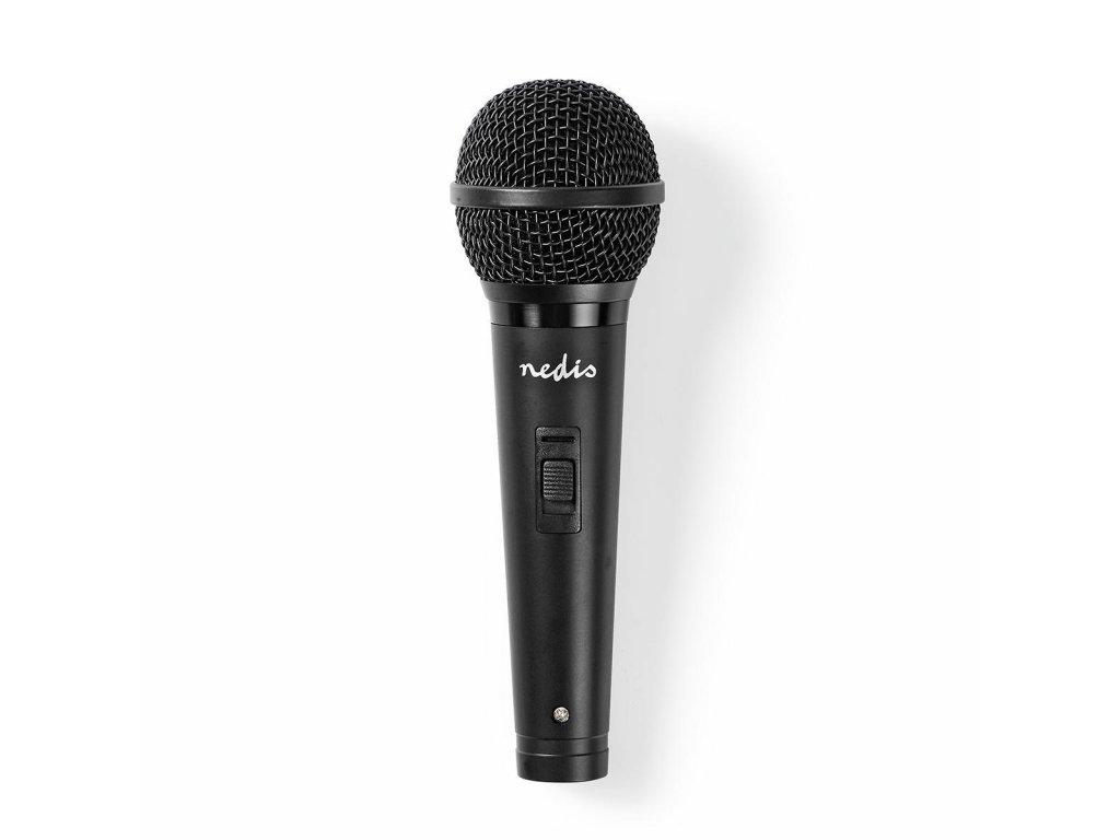 686 1 kabelovy mikrofon kardioid odnimatelny kabel 5 00 m 80 hz 13 khz 600 ohm 72 db vypinac abs cerna