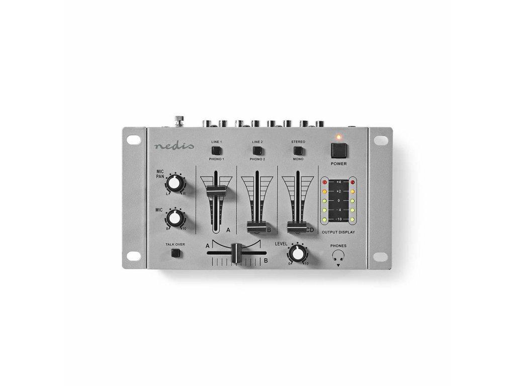 707 1 dj smesovac 3 stereo kanaly crossfader funkce zpetne komunikace