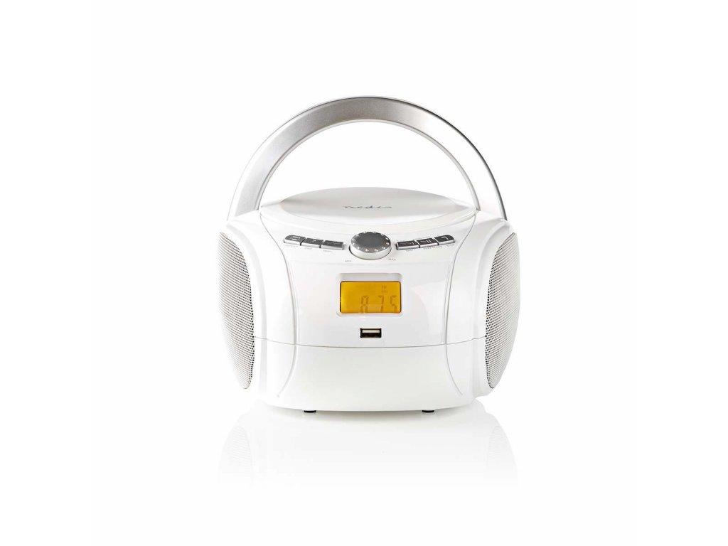 728 1 cd prehravac boombox napajeni z baterie sitove napajeni stereo 9 w bluetooth fm usb prehravani drzadlo bila