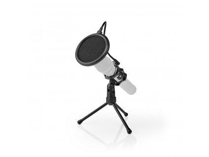 1013 1 stolni stojan na mikrofon se tremi nohami vyklopny filtr cerny