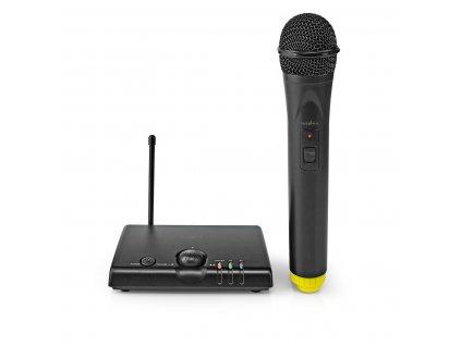 1022 1 bezdratovy mikrofon 1 mikrofon kardioid 40 hz 15 khz 1500 ohm 97 db ovladani hlasitosti cerna