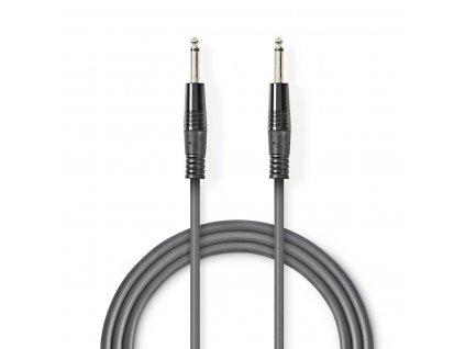 2618 mono audio kabel m 6 35 mm m 6 35 mm poniklovany 1 50 m kulaty pvc