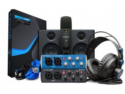 53582 presonus audiobox studio ultimate bundle 25th anniversary edition