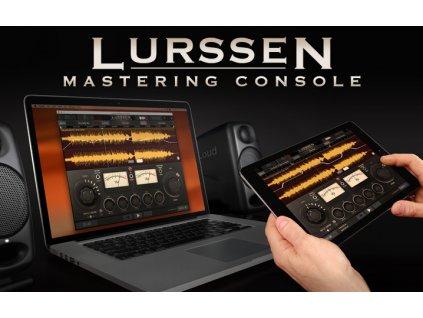 55574 ik multimedia lurssen mastering console el licence