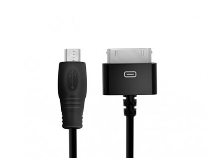55826 ik multimedia 30 pin to micro usb cable