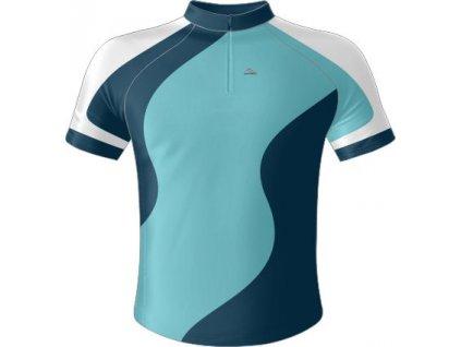 Dres - šablona Wave (Barevná kombinace žluto-modrá, Typ oblečení Dres ELITE)