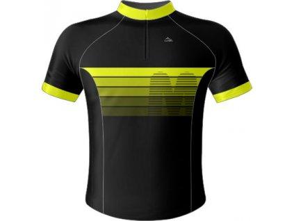 Dres - šablona Umbria (Barevná kombinace žluto-modrá, Typ oblečení Dres dámský RACE)