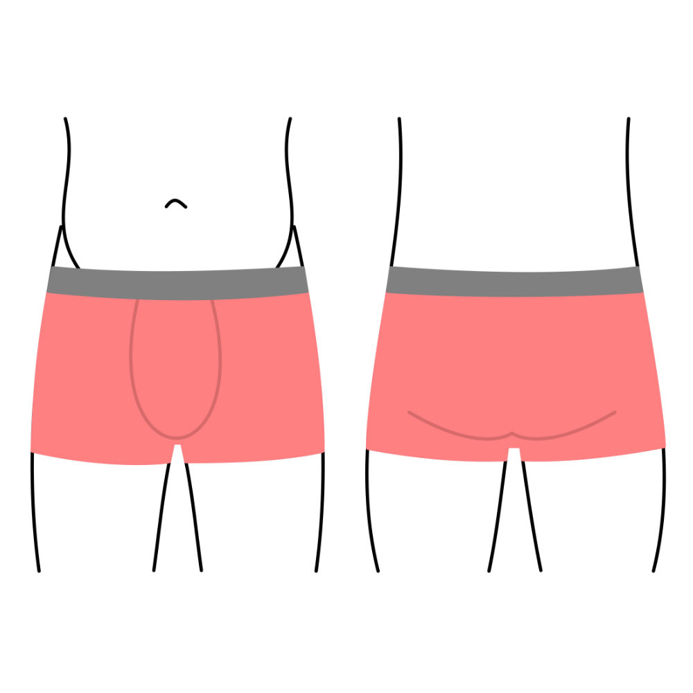 Pánské boxerky, spodní prádlo - krátká nohavička