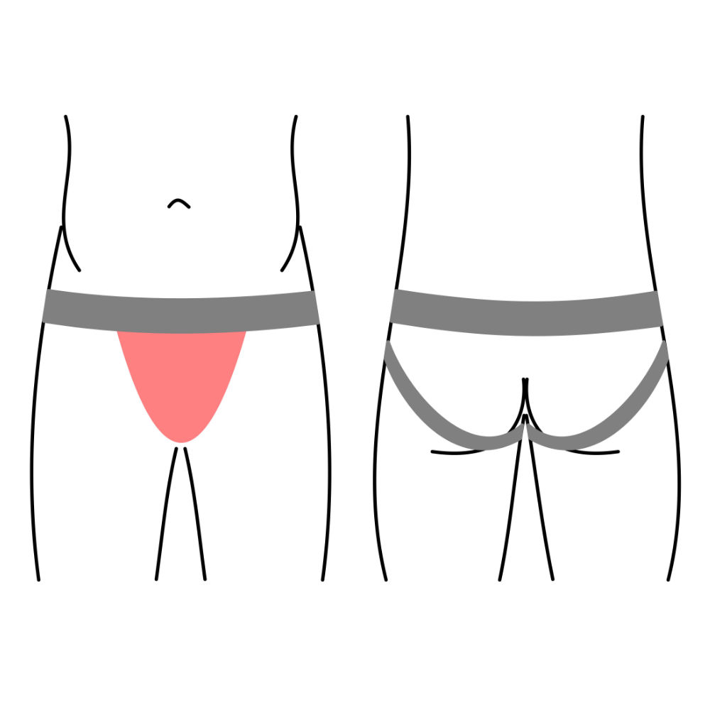 Pánské jocks, spodní prádlo - jockstraps