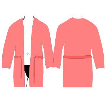 Pánské luxusní župany, župany s kapucí, dlouhé, krátké