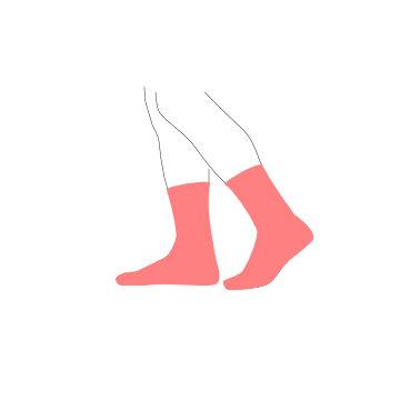 Pánské ponožky, nízké, vysoké, společenské