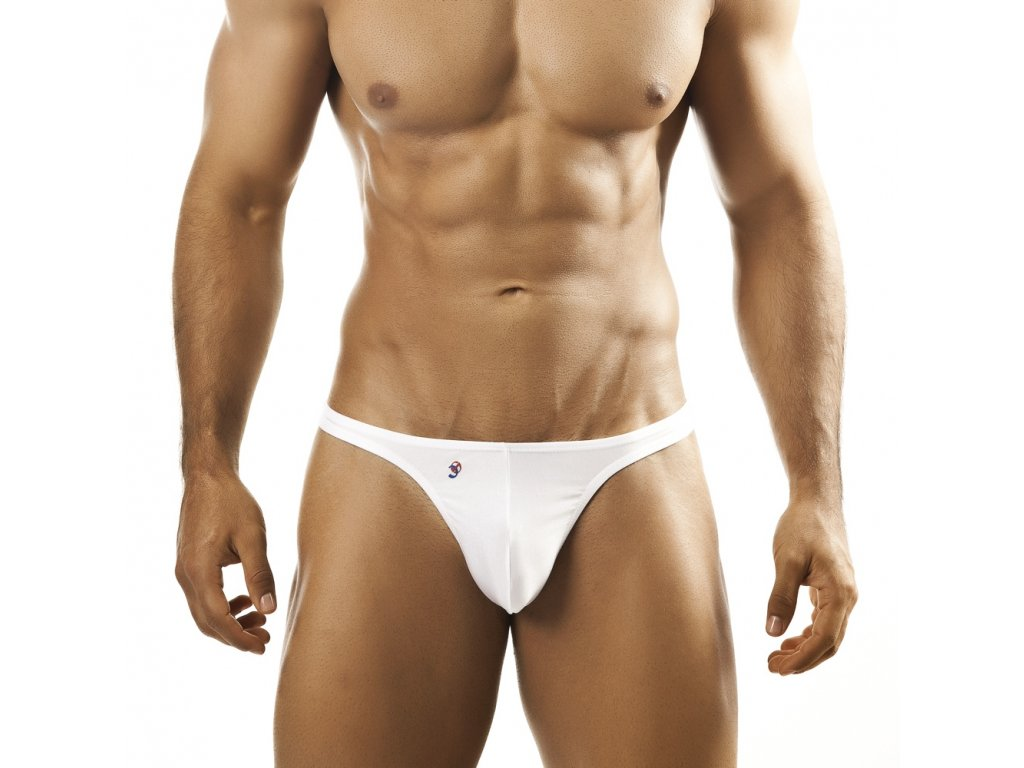 Joe Snyder Shining tanga white JS-03