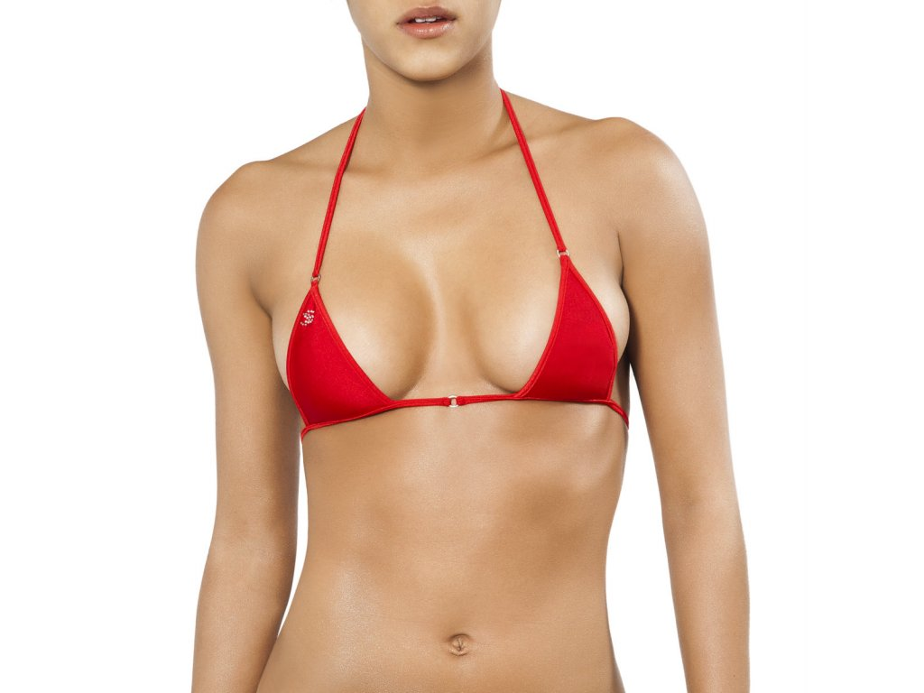 Joe Snyder SANTORINI TOP bikiny red JS-W-202