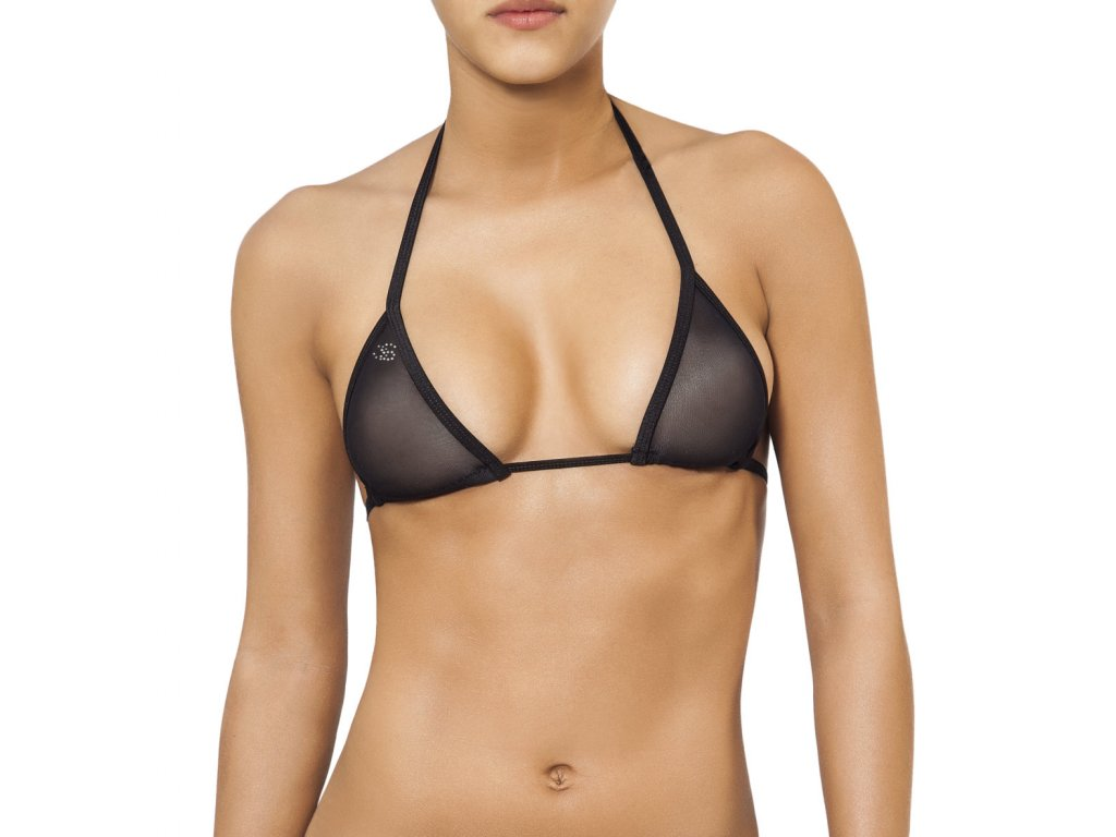 Joe Snyder LEFKADA TOP bikiny black-sheer JS-W-203