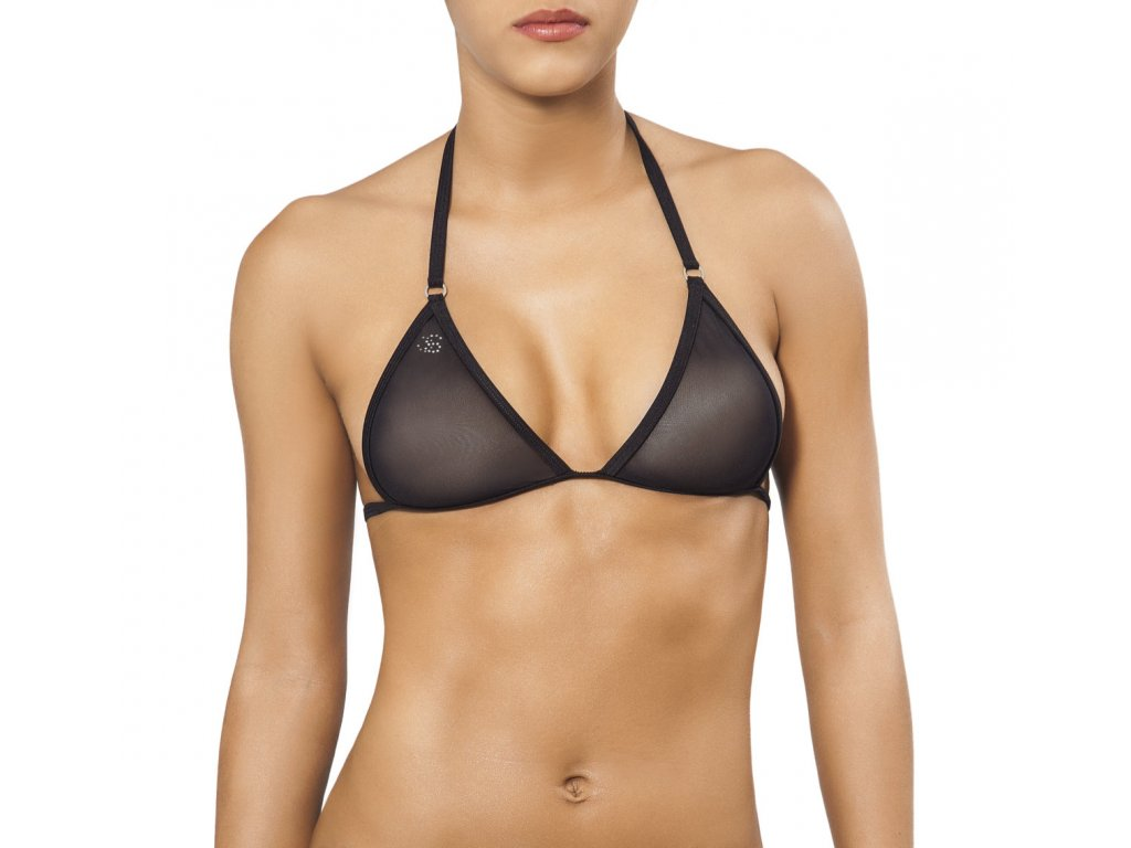 Joe Snyder CORFU TOP bikiny black-sheer JS-W-205