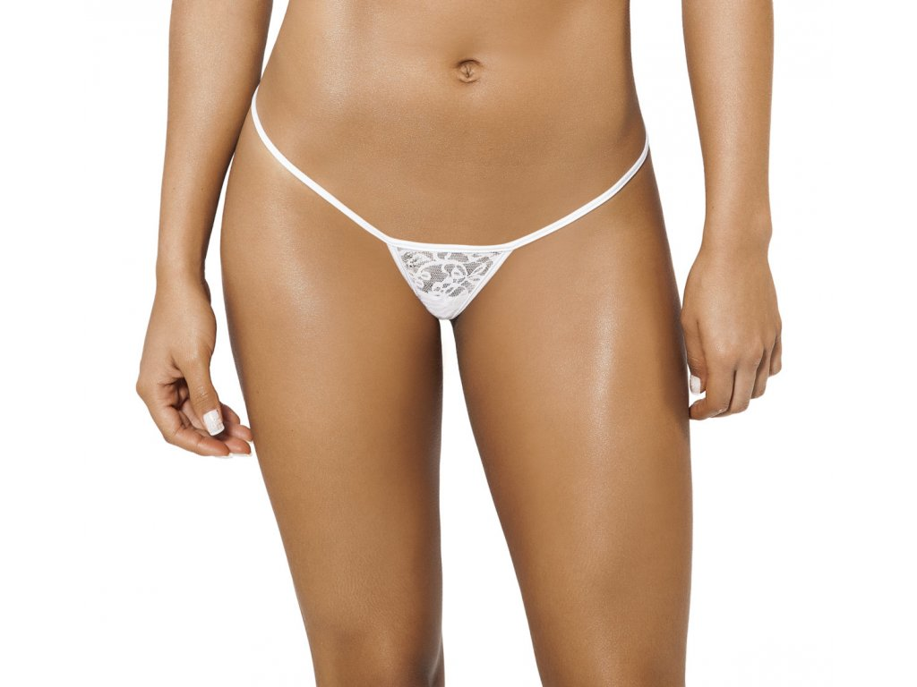 Joe Snyder SKYROS string bikiny white-lace JS-W-102