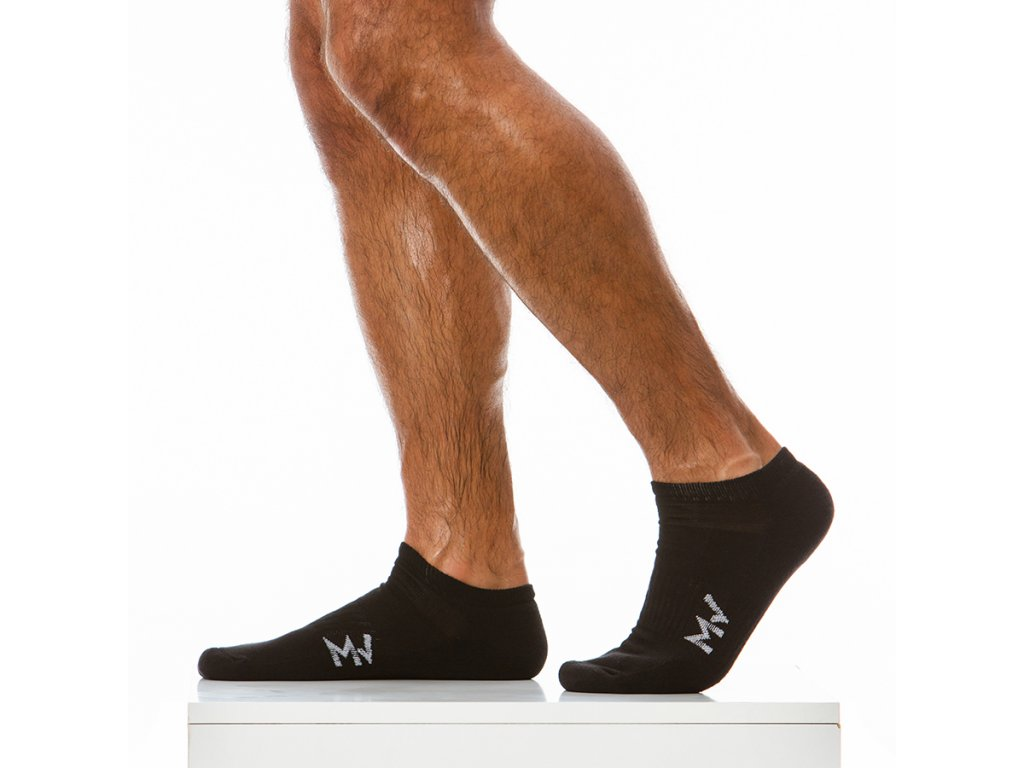xs1923 black modus vivendi accessories gay accessories line winter gym socks 1