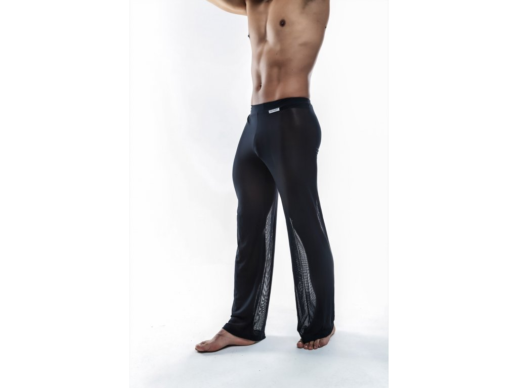 JS30 Black sheer pants side