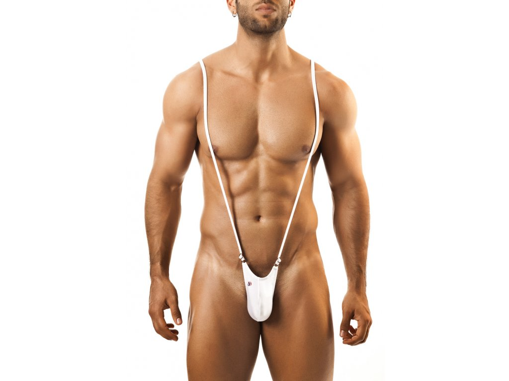 Joe Snyder Shining body tanga white JS-27