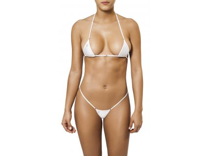 Joe Snyder MYKONOS-TINOS string bikiny white JS-WC-101201