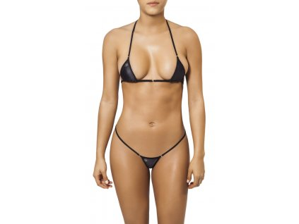 Joe Snyder MYKONOS-TINOS string bikiny black JS-WC-101201