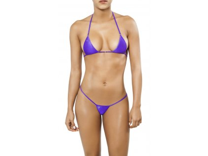 Joe Snyder SANTORINI-SKYROS string bikiny purpura JS-WC-102202
