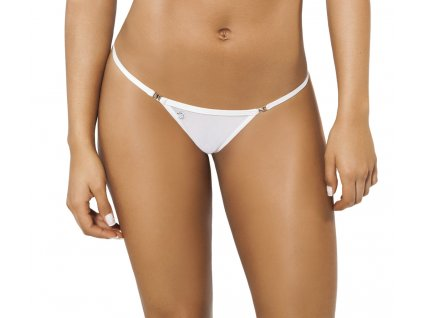 Joe Snyder NAXOS kini bikiny white-sheer JS-W-104