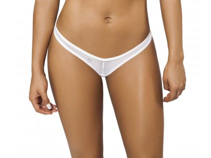 Joe Snyder RHODES tanga bikiny white-sheer JS-W-105