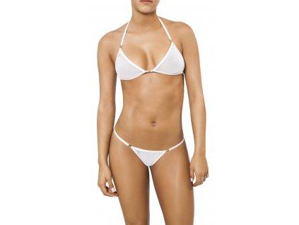Joe Snyder LEMNOS-NAXOS kini bikiny white-sheer JS-WC-104204