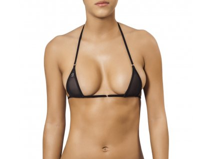 Joe Snyder MYKONOS TOP bikiny black-sheer JS-W-201