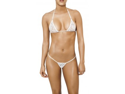 Joe Snyder SANTORINI-SKYROS string bikiny white-lace JS-WC-102202