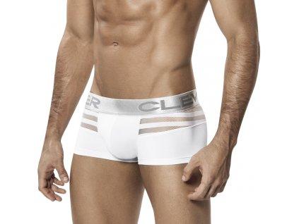 419(3) clever moda ammolite boxerky white cm 2210