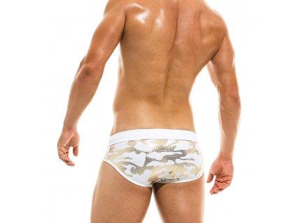 AS1912 white gold modus vivendi gay swimwear glitter line brief 1 xsg1 4v