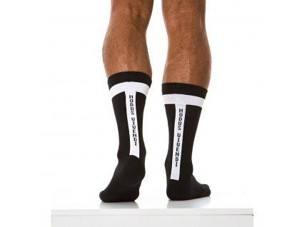 XS1813 black modus vivendi accessories gay accessories line athletic socks 2