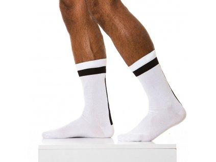 XS1813 white modus vivendi accessories gay accessories line athletic 1 2