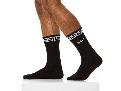 XS1817 black modus vivendi accessories gay accessories line meander 1