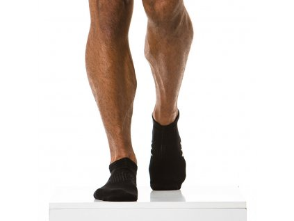 XS1818 black modus vivendi accessories gay accessories line gym socks 1