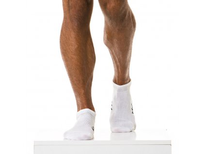 XS1818 white modus vivendi accessories gay accessories line gym socks 1